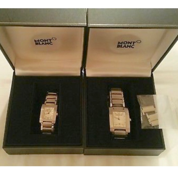Montblanc Other - ❤️ Mont Blanc His/Hers Set matching watches ❤️